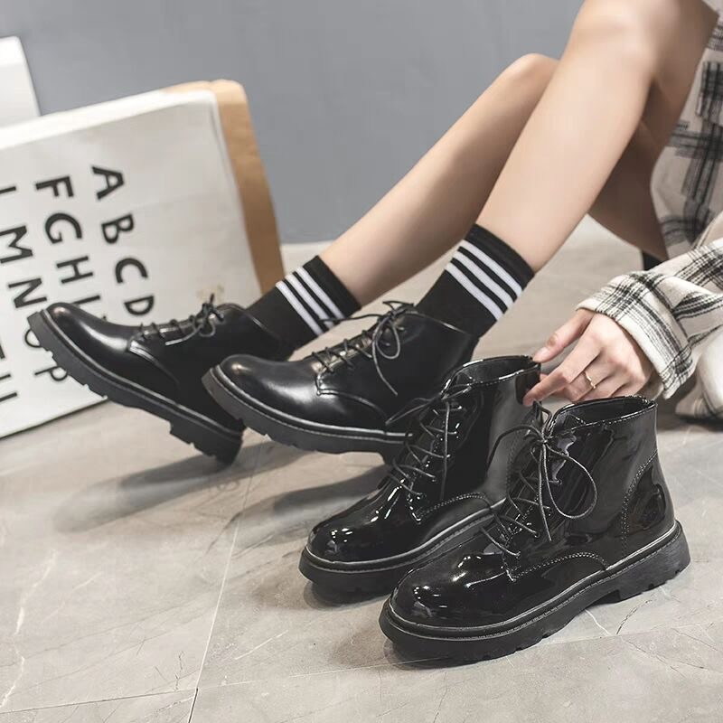 Woman Casual Botas Women Leather Shoes For Winter Boots Shoes Mujer Female Ankle Boots Non slip Waterproof Keep Warm in Ankle Boots from Shoes