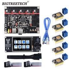 Bigtreetech btt skr v1.4 skr v1.4 turbo 32 bit placa-mãe tft24 v1.1 atualização da tela de toque skr v1.3 tmc2209 motorista do motor passo
