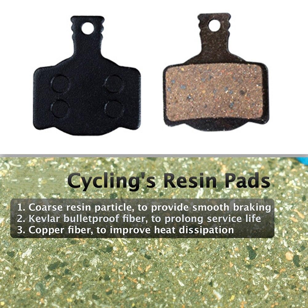 Купить с кэшбэком 4 Pairs Mountain Bikes Bicycle Disc Brake Pads Cycling Mtb Resin Brake Pad For Magura Mt2 Mt4 Mt6 Mt8 Dk-17