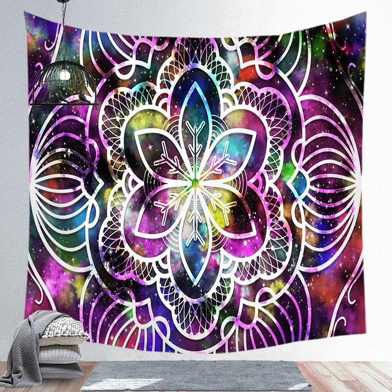 Image 5 - Indian Mandala Tapestry Wall Hanging Beach Blanket Hippie  Tapestry Home Decorative Bohemian Decorative Wall MatsTapestry   -