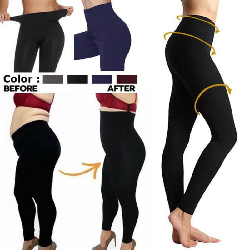 Autumn And Winter Warm Pants Hot Selling High Waist Legging Plain Salad Women Pants Women Winter Leggings 17