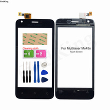 Mobile Phone Touch Screen For Multilaser MS45S Touch Panel Digitizer Touch Screen Glass Lens Sensor Front Glass