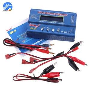 Image 4 - iMAX B6 Li ion Battery Charger RC Lipo NiMh NiCD Battery Power Bank Balancer Charge Discharger LCD Digital Display