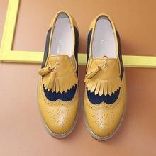 Женские повседневные лоферы; Туфли оксфорды из натуральной кожи
