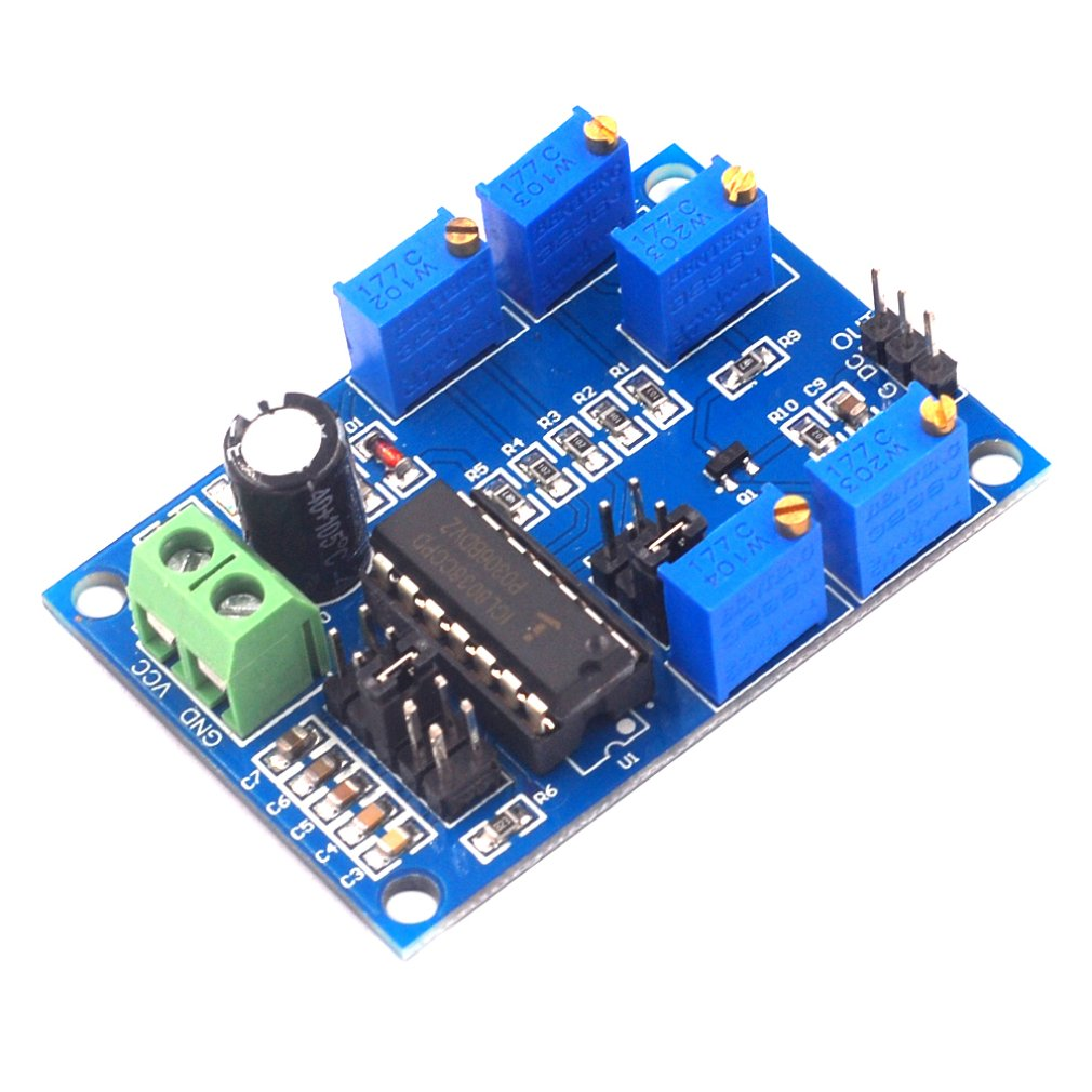 ICL8038 Medium Low Frequency Signal Source Waveform Signal Generator Sine Wave Triangular Wave Square Wave Module
