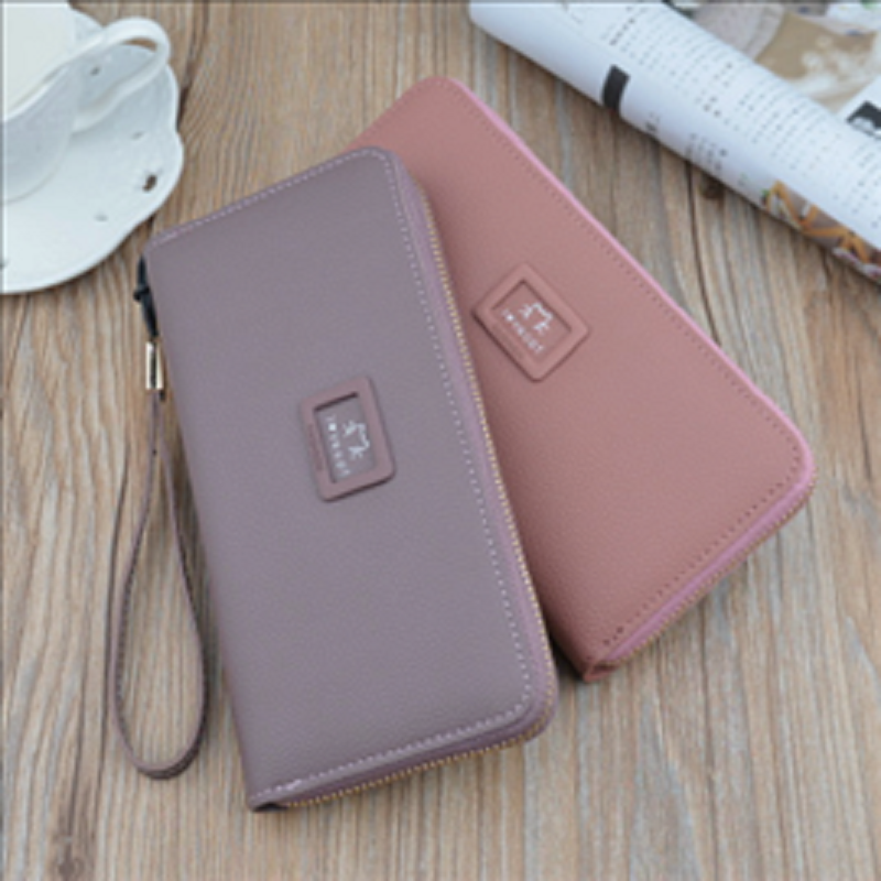 2020 new women's wallet large capacity change fringe mobile phone handbag wallet women's long zipper wallet