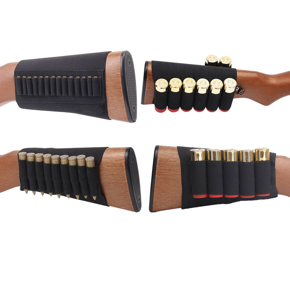 5/8/ 9/14 Shell Airsoft Hunting Molle 8 Rounds GA Shot Gun Shells Holder Shooting Arm Band 12 Gauge Bullet Ammo Cartridge Pouch