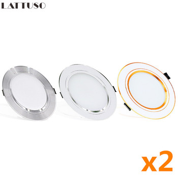 2pcs/lot LED Recessed Ceiling Downlights Ceiling Downlights