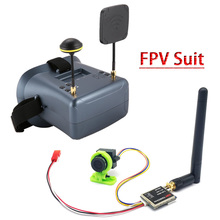 FPV Suit LS 008D 5.8G FPV Googles VR Glasses High Quality 40CH With 2000mA Battery with 600mw transmitter+CMOS 1000TVL camera