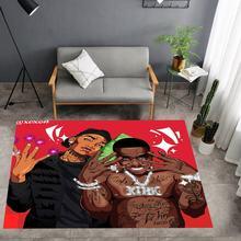 Ковер с 3d принтом модный ковер напольный коврик уличный забавные