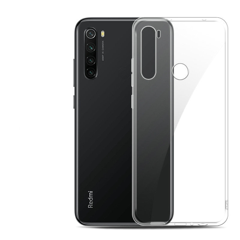 For <font><b>Xiaomi</b></font> <font><b>Redmi</b></font> <font><b>Note</b></font> 8T Transparent Silicon Case for <font><b>Xiaomi</b></font> <font><b>Redmi</b></font> <font><b>Note</b></font> <font><b>8</b></font> <font><b>Pro</b></font> 128GB <font><b>64GB</b></font> Soft Phone Back Cover Case Capa Etui> image