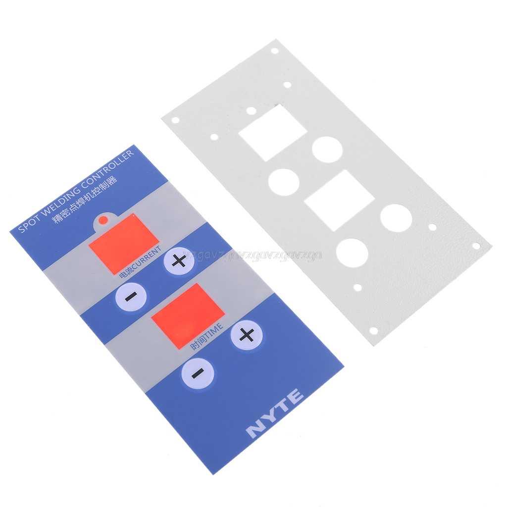 Pannello film PER LA visualizzazione digitale del Punto di tempo di saldatura e corrente del pannello di controllo di temporizzazione Amperometro Spot Saldatori NY-D04 D05 J21 20