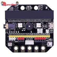 Высокое качество 1 комплект основной: бит IO Плата расширения горизонтального типа Pinboard Microbit pyton макетная плата для Micro: бит