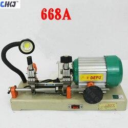 CHKJ DEFU 668A Horizatol klucz maszyna do cięcia klucz maszyna do robienia kopii klucz 220V 180W kluczem powielaczu maszyny narzędzia ślusarskie|Akcesoria ślusarskie|   -