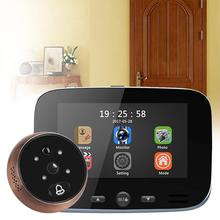 DD1 Infrared Motion Sensor Door Bell Viewer Long Standby Video Intercom Infrared Professional Security Night Vision HD Camera