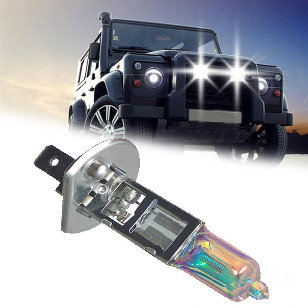 Car Light H1 Halogen Bulb 12V 55W Yellow Gold 5000K 1300Lm Quartz Auto Fog HeadLight Car Glass Lamp V8H8