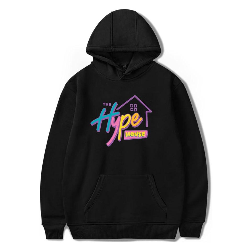 New 2020 The Hype House Hoodies Charli D'Amelio Hooded Sweatshirts Men/Women Print Addison Rae Hoodies Adults/children Clothes