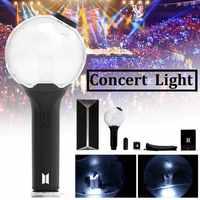 Hot Sale Original kPOP APP Bluetooth Lamp Stick VER.3 Lightstick Bangtan Glowing Stick Concert Adjustable Color Lamp Glow light