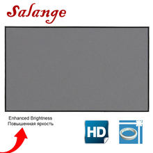 Salange Projector Screen 100 120 inch Screen Projection Portable Reflective Fabric Cloth For XGIMI H3 H2 YG400 for Xiaomi Beamer(China)