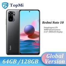 Versión Global Xiaomi Redmi Nota 10 Smartphone 4GB RAM 64GB / 128GB ROM Snapdragon 678 de 6,43
