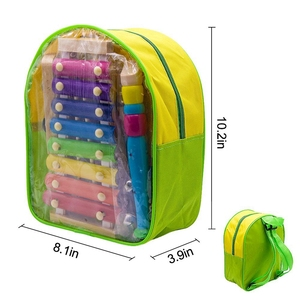 Image 5 - Instruments de musique pour enfants, 15 Types 23 pièces jouets de Xylophone à Percussion en bois pour garçons et filles
