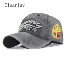 Washed 100% Cotton Baseball Cap Hat for Women Men Vintage Dad Hat Fashion Sport Baseball Cap Embroidery Letter Outdoor Hats fashion rectangle labelling embellished sport baseball cap for men