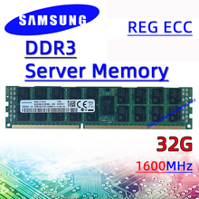 Samsung Server Geheugen Reg Ecc Ddr3 32Gb 1600Mhz Ram Pc3 12800R