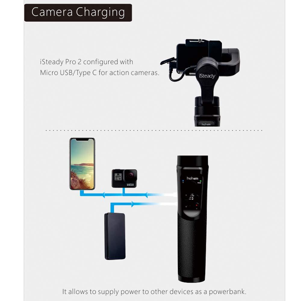 Feiyu Tech g 6 plus Gimbal para actioncams smartphone cámara compacta cámara del sistema g6