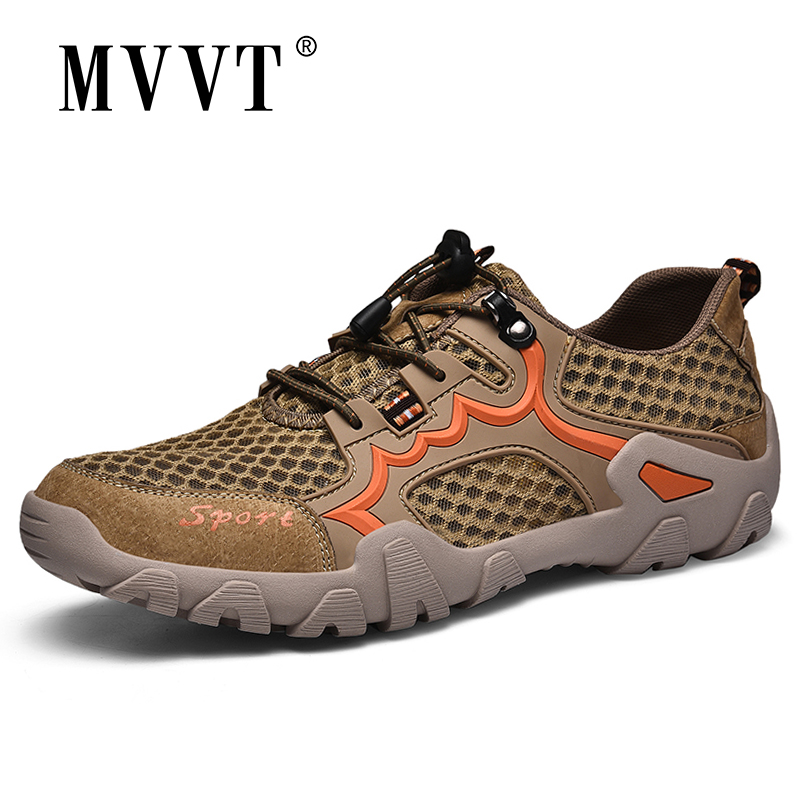 Hiking Shoes Outdoor Sneakers Waterproof Super Breathable Man Men title=