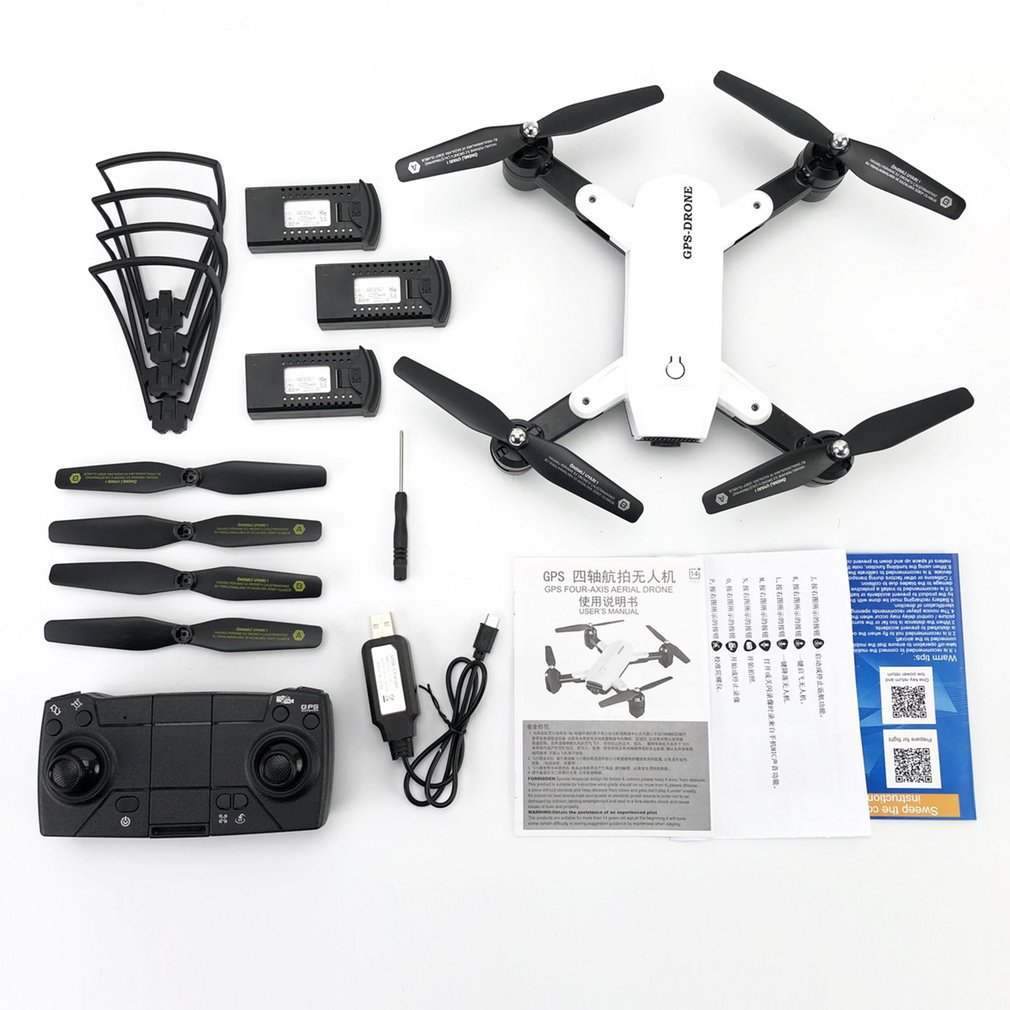 ZD6 720P 1080P HD Camera Live Video Drone GPS RC Drone FPV RC Helicopter Aircraft Headless Mode Optical Flow Remote Control Toys