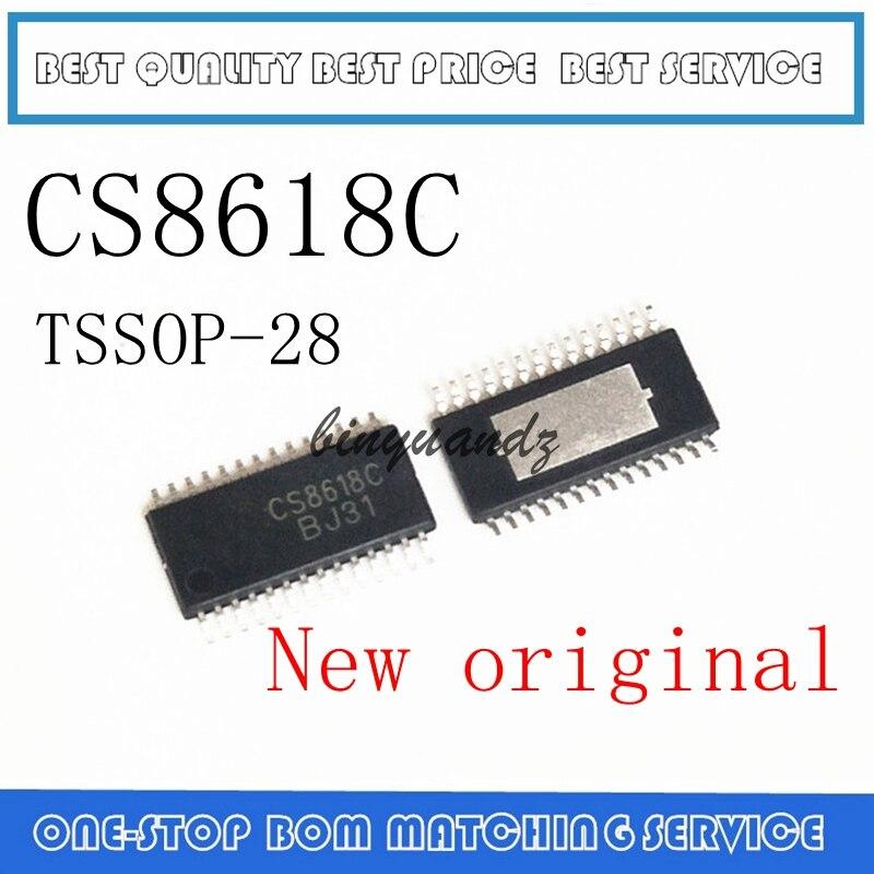 5PCS~20PCS CS8618 CS8618C TSSOP-28 New Original