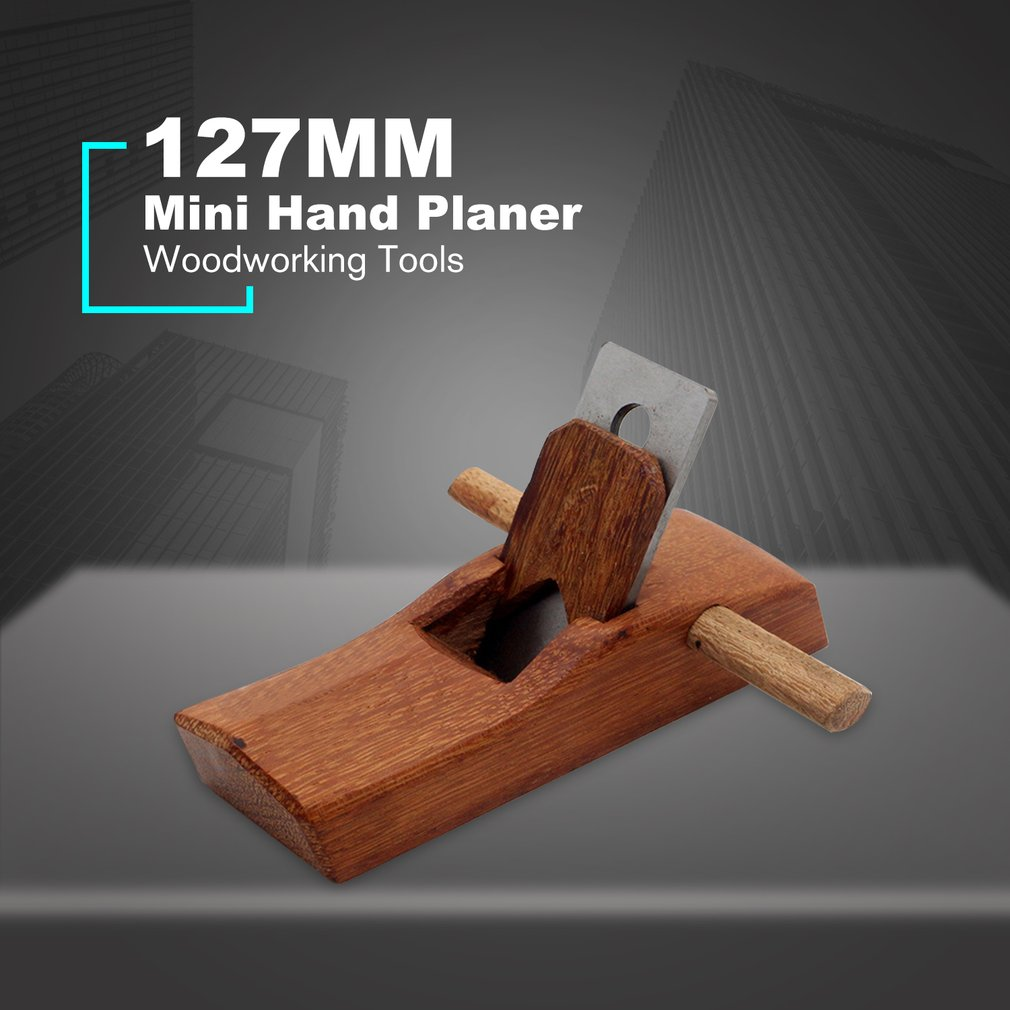 DIY Mini Hand Planer Wood Planer Easy Cutting Edge For Carpenter Sharpening Woodworking Tools Hard Wood Hand Tools