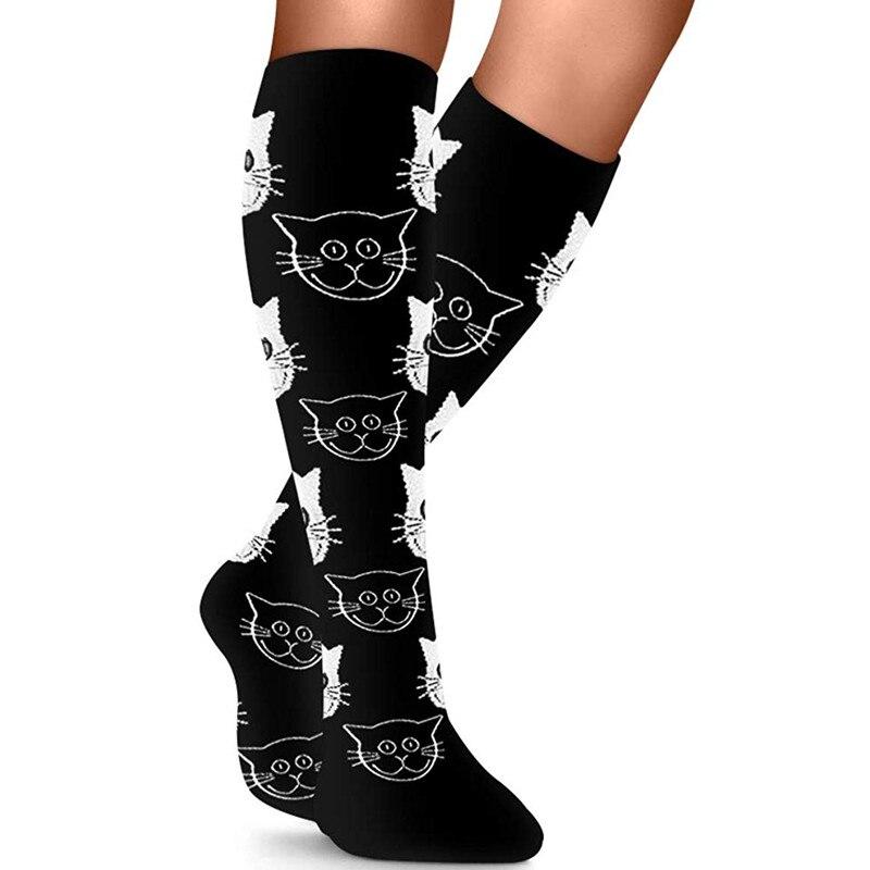 Meias de compressão cansado achy unisex anti varizes homens mulheres anti fadiga magia meias confortáveis macio milagre meias