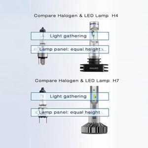 Image 5 - フィリップス LED 9005 9006 HB3 HB4 X treme Ultinon LED 車のヘッドライト 6000 18k ホワイトオートオリジナルランプ + 200% 明るい 11005XUX2 、ペア