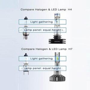 Image 5 - Philips LED 9005 9006 HB3 HB4 X treme Ultinon LED Del Faro Dellautomobile 6000K Bianco Auto Originale Lampade + il 200% Più Luminoso 11005XUX2, coppia