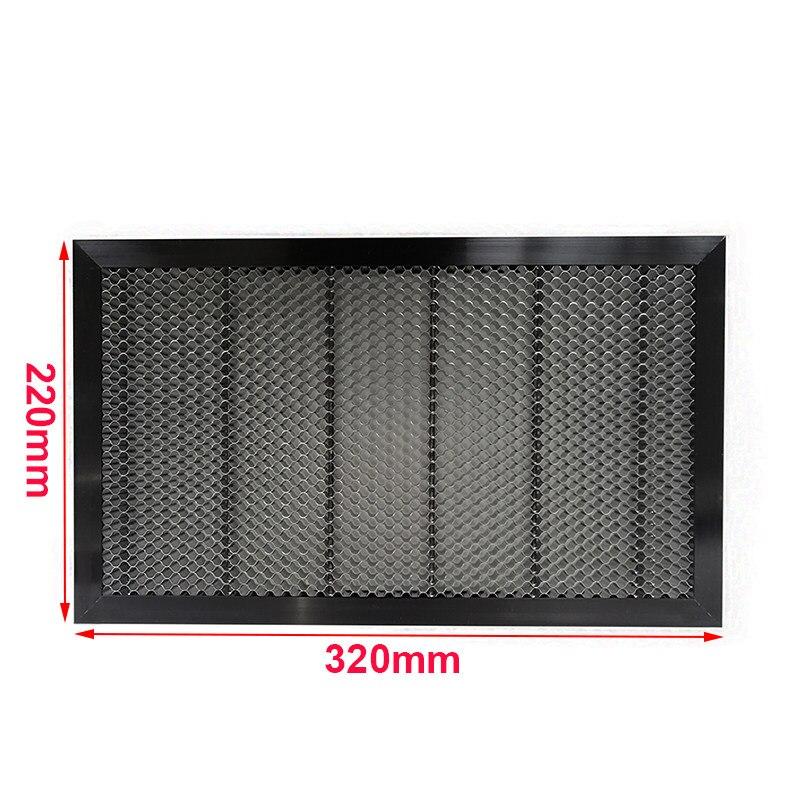 Aluminum Honeycomb /& frame 15mm,6,5mm CO2 Laser 400x300mm Wabengitter /& Rahmen