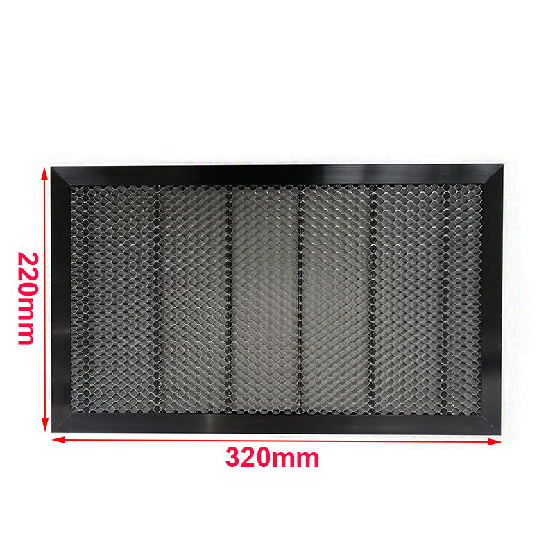 Shenhui K40 320*220mm Aluminum Laser Honeycomb Table Honeycomb Platform Co2 Laser Engraving Cutting 40W Engraver Machine Parts