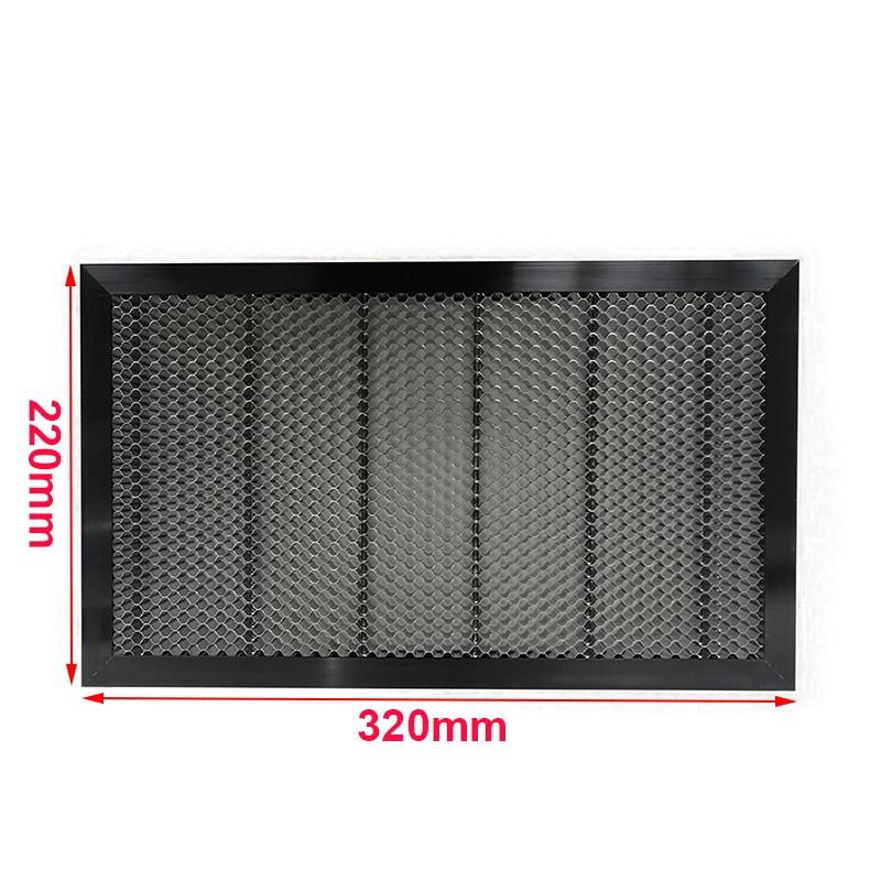 Shenhui K40 320*220mm Aluminum Laser Honeycomb Table Honeycomb Platform Co2 Laser Engraving Cutting 40W Engraver Machine Parts