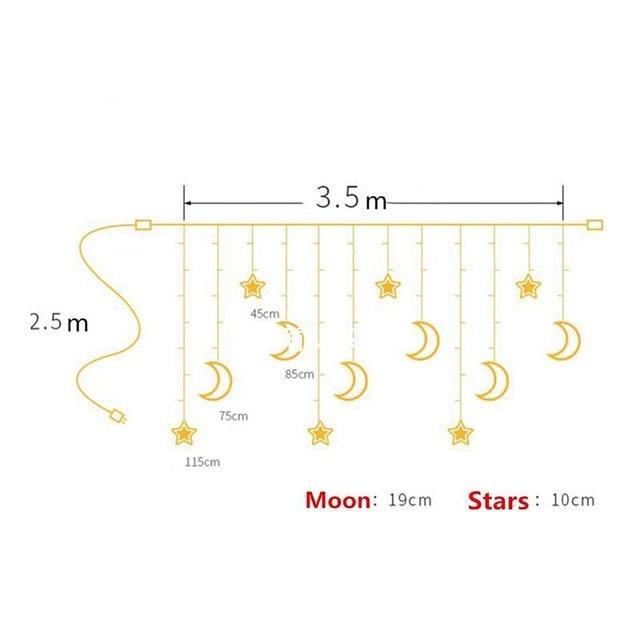 Звездный светодиодный светильник s светодиодная луна звезда
