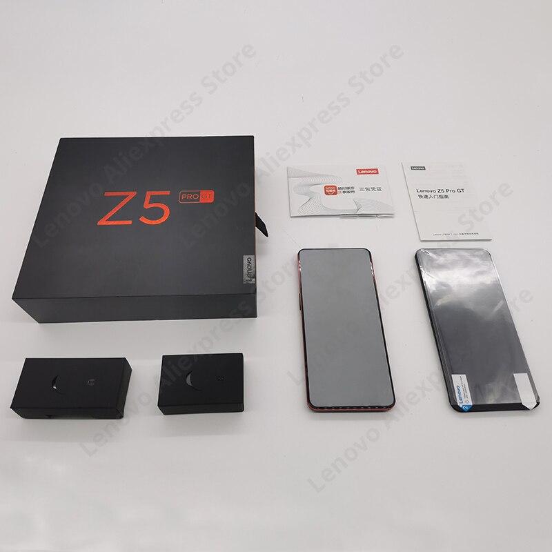 Image 5 - Original Global ROM Lenovo Z5 Pro GT Snapdragon 855 Smartphone 6GB 8GB RAM 256GB ROM 6.39 In Screen Fingerprint 24MP NFC-in Cellphones from Cellphones & Telecommunications