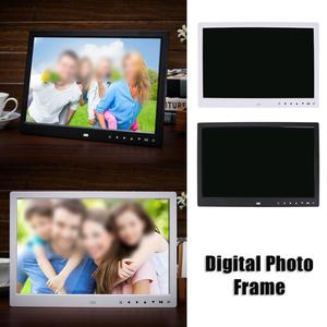 Image 5 - 15 inch HD Touch Screen Digital Photo Frame  MP3 MP4 Movie Player Alarm TFT LED Photo Digital MusicX  Home Decoration ABS