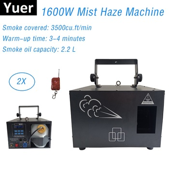 1600W Haze Machine / Stage Smoke Machine Professional 1600W Fogger For Wedding Home Party Stage Dj Equipments For Laser Discos