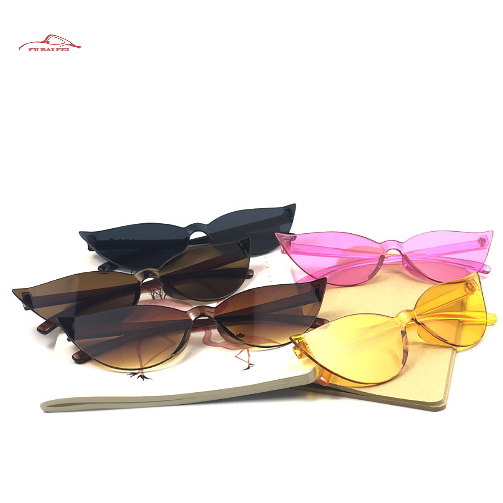 New Big Frame Sunglasses With Cat's Eyes European And American Fashion Retro Personalized Sunglasses For Men And Women