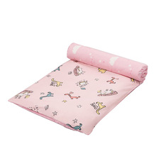 Baby Bed Mattress Pad Crib Mattresses Topper Pure Cotton Cartoon Cot Cardle Bedding Bed Set Baby Bedding Duvet Cover Removable
