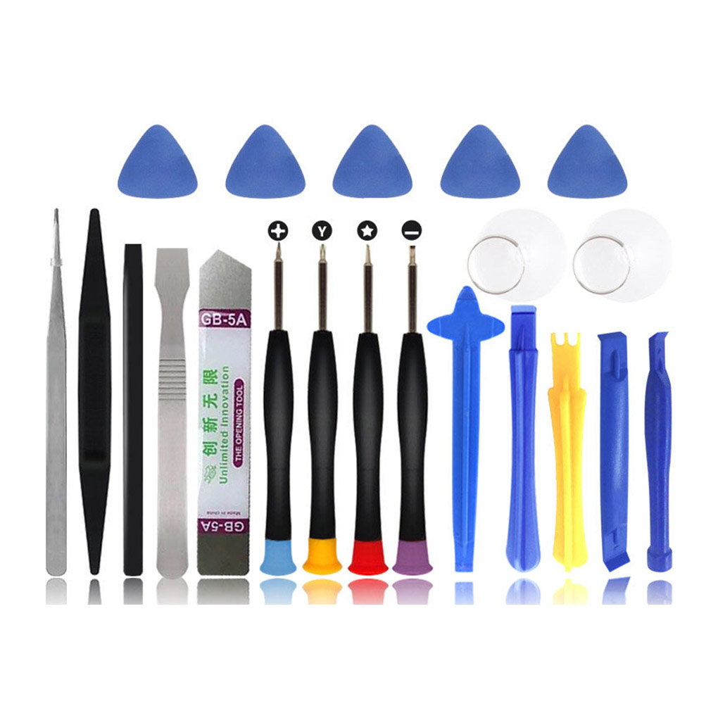8/9/10/11/16/21pcs Repair Tool Kits Cell Phones Opening Pry Smartphone <font><b>Screwdrivers</b></font> Tool Set For iPhone For Samsung For HUAWEI image