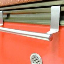 Вешалки для полотенец Над кухонным шкафом, дверным шкафом, ручным полотенцем, крюком, вешалкой, держателем, подвесным шкафом для полотенец из нержавеющей стали