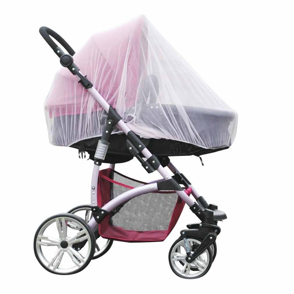 1 Pza caliente al aire libre completo bebé silla de paseo para niños mosquiteros Red de insectos cubierta de Buggy para bebés mosquiteros