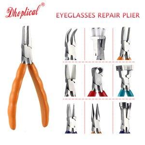 Szczypce do naprawy okularów regulacja noski rama noga i noski most soczewki okulary narzędzie naprawcze darmowa wysyłka