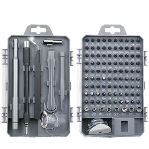 Image 1 - Juego de destornilladores 112 en 1, Mini destornillador eléctrico de la precisión adecuado para teléfono móvil, tableta, PC, utensilio doméstico