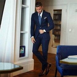 Мужские строгие костюмы, строгие деловые вечерние смокинги для жениха, пиджак + брюки
